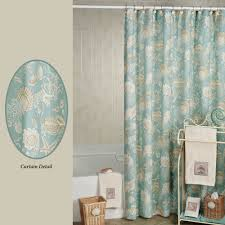 Seashell Shower Curtains Shells Shower Curtain