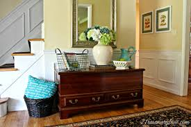 Turquoise Entry Table by 21 Rosemary Lane Summer Entry