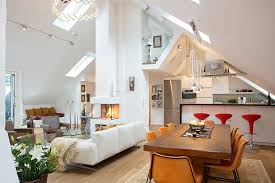 styled on sweden swedish house has modern classical and rustic