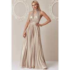 goddiva dresses goddiva pratt metallic v necked maxi dress