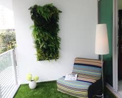 small balcony design ideas artificial vertical green wall at