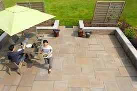 how to lay tile outside for a patio