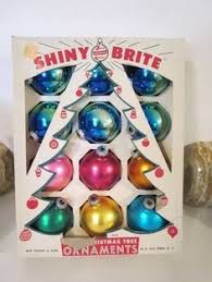these shiny brite ornaments look for prices on these at