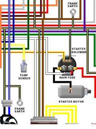 kawasaki zzr600 e1 e2 uk spec colour electrical wiring diagram