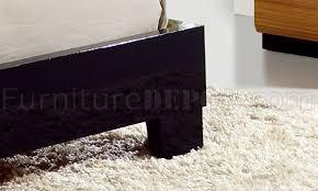 tone oak black high gloss finish modern bedroom