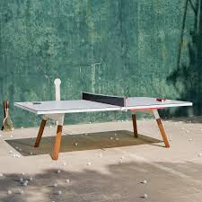 outdoor ping pong table in white thos baker medium outdoor ping pong table in white thos baker