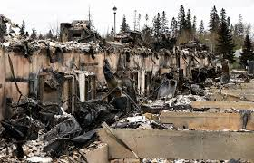 Wildfire Fighting Canada by Canada Wildfire Leaves Trail Of Destruction Al Jazeera