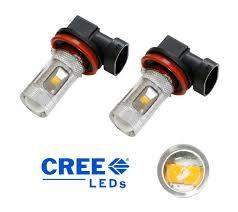 3000k yellow 30w cree xp e high power led bulbs for fog lights