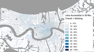 Map Of New Orleans Neighborhoods by Ridenola Driving The Transit Policy Debate In New Orleans