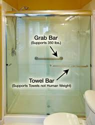 Bathroom Grab Bars Placement Differences Between Shower Grab Bar And Towel Bar