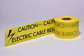 quality underground warning tape for cables u0026 pipes centriforce