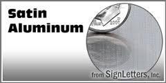 cut aluminum letters premium cut solid aluminum sign letters