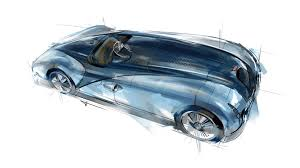 bureau le mans design sketch of the type 57 g tank the winning race car from 1937s