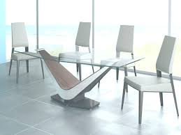 square glass table dining dining room sets round glass home design