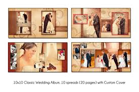wedding album templates psd wedding album template autumn swirl 10x10 unique 10