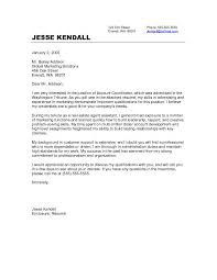Example Of Job Cover Letter For Resume by Cover Letter Example For Job Resume Example Insurance Executive