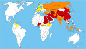 World Religions Map File Freedom Of Religions Map 2014 Png Wikimedia Commons
