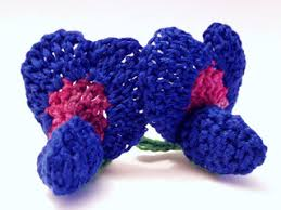 Bluebonnet Flowers - ravelry texas bluebonnet pattern by camelia shanahan