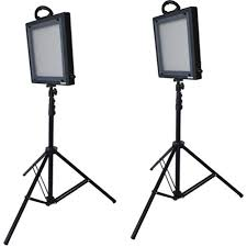 led studio lighting kit bescor led 500k 2 light studio lighting kit fondren library