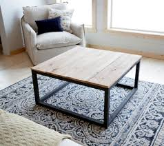 furniture diy coffee tables ideas brown square industrial style