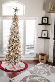 decor tips adorable 7 ft artificial slim tree with lights