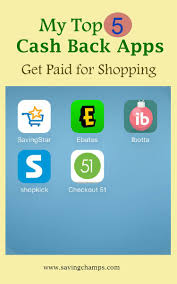 10 Iphone Apps You Can Use To Lead A Frugal Life by My Top 5 Cash Back Apps Use Those Apps To Get Paid For Shopping