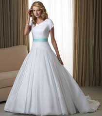 wedding dresses cheap cheap white wedding gowns with blue ribbon for 2017 fashions