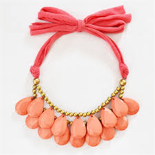 drop bead teardrop bib necklace drop necklace bead necklace coral
