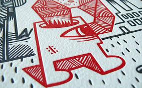 letterpress printing fpo ammo magazine letterpress print