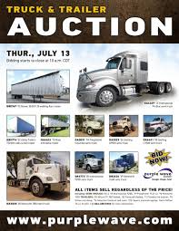 sold july 13 truck and trailer auction purplewave inc