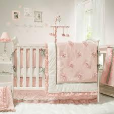 pink and white nursery bedding thenurseries
