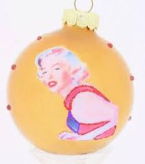 Marilyn Monroe Christmas Ornaments - a marilyn monroe christmas ornament featuring the beautiful
