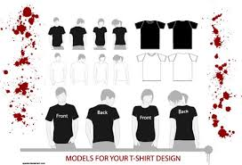 t shirt design template blank t shirt vector templates 54 handpicked exles