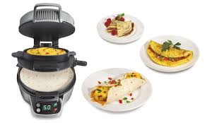 Breakfast Sandwich Toaster 50 Off On Hamilton Beach Burrito Maker Groupon Goods