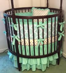 Ellery Round Crib by Round Crib Bedding Beds Decoration