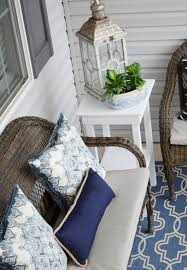 the cheerful home summer front porch refresh