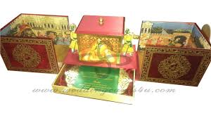 wedding photo box indian doli wedding invitation all colors of indian wedding card