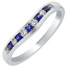 wedding bands boston curved wedding bands inside estate curved diamond platinum