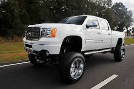 lifted nissan frontier white 2013 gmc sierra denali hd white ghost