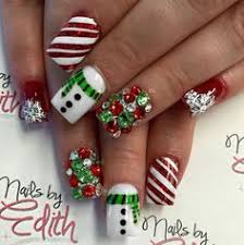 40 festive and fabulous christmas nail art designs all about