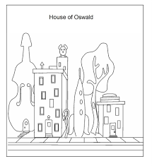 house of oswald coloring printable for kids