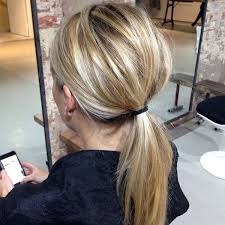 layer hair with ponytail at crown the best real girl hair inspo from pinterest bardot smooth and