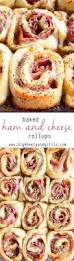 baked ham and cheese rollups recipe baked ham hams and cheese