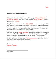 Recommendation Letter Format Exle landlord reference letter template 10 sles exles formats