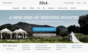 all in one wedding registry a wedding registry rev from zola digital style digestdigital