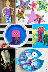 under the sea crafts for kids arty crafty kids