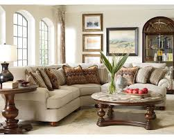 Sectional Sofa Pillows by Portofino Sectional English Arm Bun Foot Thomasville Furniture