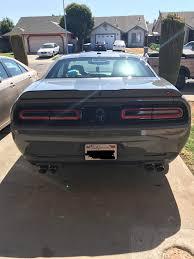 Dodge Challenger Tail Lights - tail light marker tinted dodge emblem deleted punisher emblem