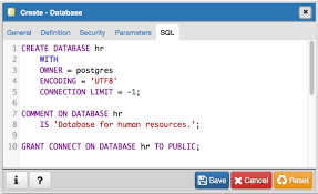 the database dialog u2014 pgadmin 4 2 1 documentation