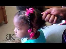 natural hair styles for 1 year olds amazing cute girls hairstyles natural hair ponytails youtube